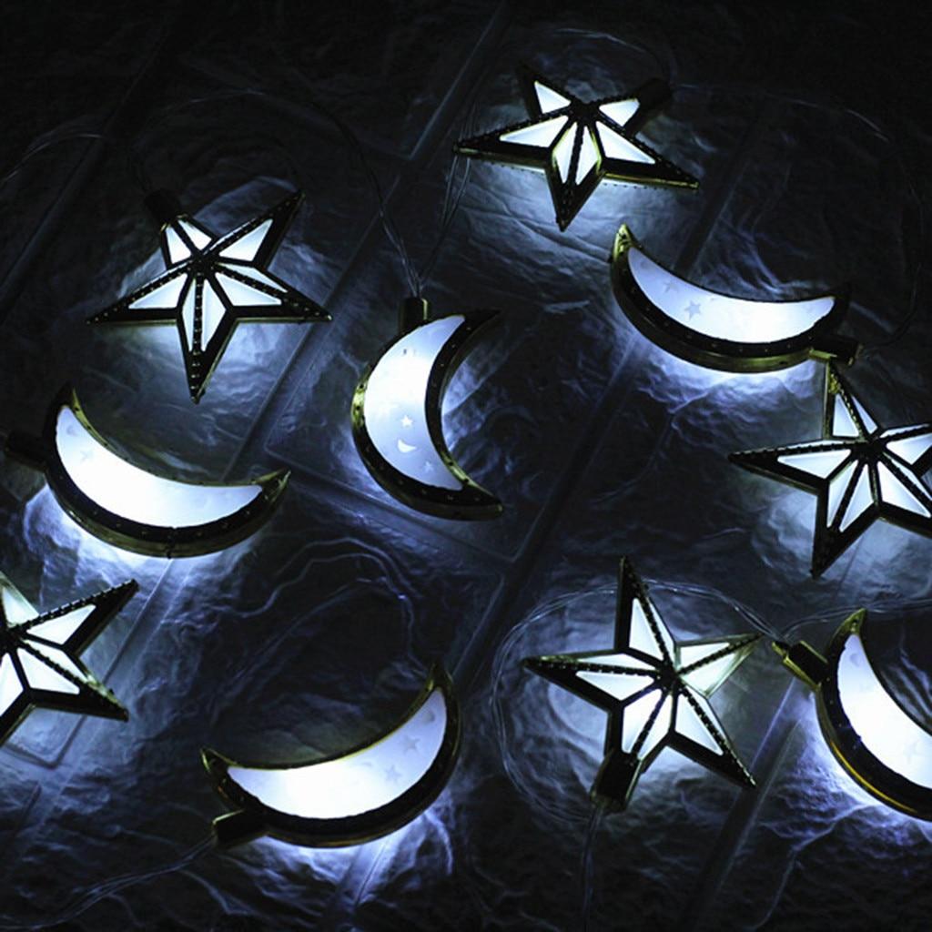 Рамадан и Eid Декор огни Светодиодный свет Главная фестиваль вечерние Фестиваль пользу приятно Строка Света просвечивающие нитка для украшения дома