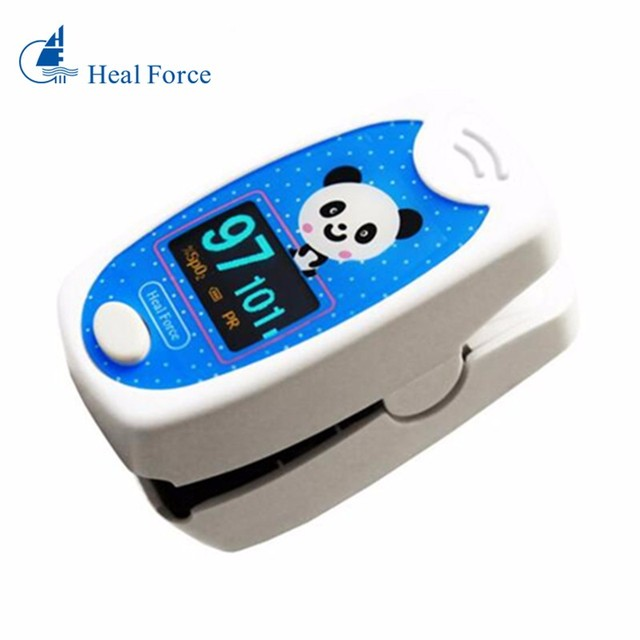 Heal Force 100D2 Digital Finger Pulse Oximeter Blood Oxygen SpO2 Saturation PR PI Oximetro Monitor Oximetro Health Care