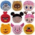 Hot Sale Cartoon Coin Purses Children Plush Mini Bags Female Coin Bag Women Zipper Character Wallets