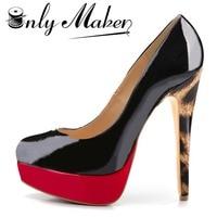 O nlymakerสตรีปั๊มใบบนรองเท้า16