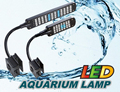 28/48LED Aquarium Light Fish Tank plant Lamp 2 Mode Clip White &Blue Light Bulb Lamp Adjustable aquarium accessories