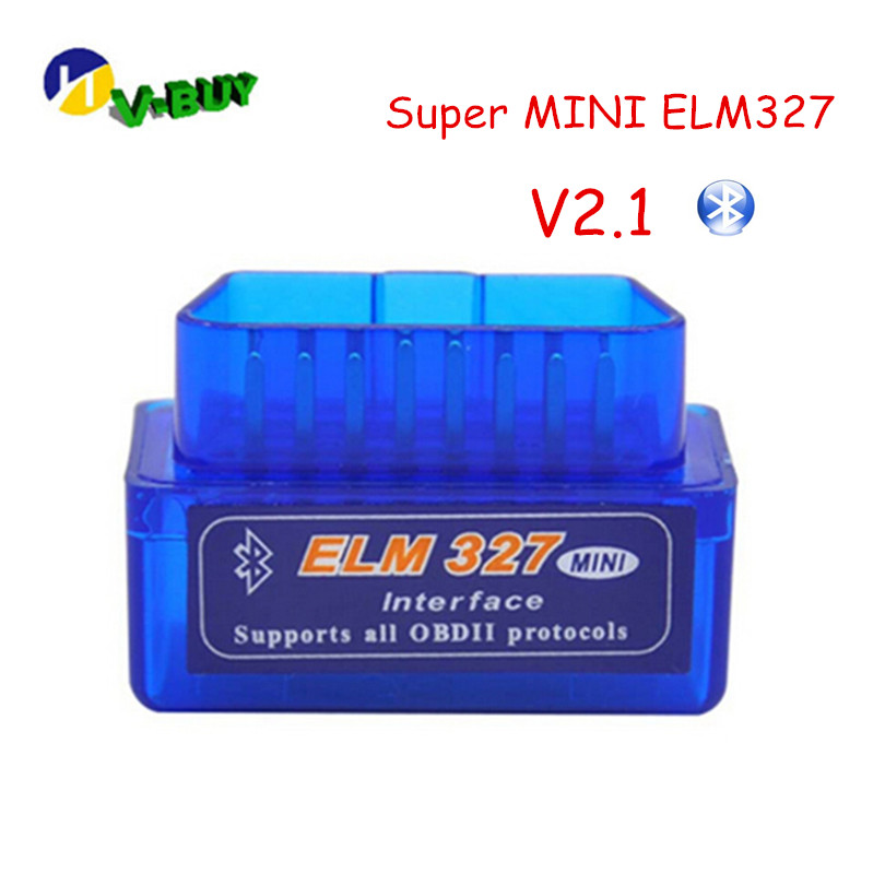 2019 Cool Price Super Mini ELM327 Bluetooth V2.1 OBD2 Diagnostic Tool Mini ELM 327 Bluetooth Auto OBD2 Code Scanner