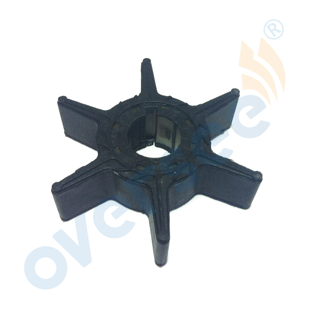 63V-44352-00 Water Pump Impeller For Yamaha Parsun Powertec 2 Stroke 9.9HP 15HP Outboard Engine Parts Boat Aftermarket Parts