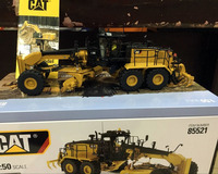Caterpillar Cat 18M3 Motor Grader 1/50 Scale Metal Model By Diecast Masters DM85521