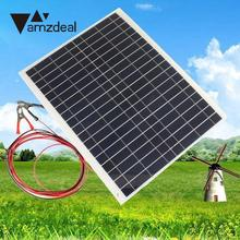 20W 12V Battery Charger Kit Diy Foldable Solar Panel For Camping Hiking Portable Professional Home Travelling
