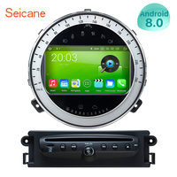 Seicane 7inch 1Din Multimedia Player Android 8.0 8 Core 1080P 4G RAM GPS Stereo Audio Car DVD Player For BMW Mini Cooper