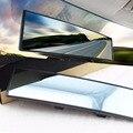 Universal Car Espelho Retrovisor Grande Angular Panorâmica Anti-ofuscante Interior Espelho Retrovisor Espelho Grande Visão 280mm Curvo