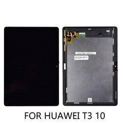Conjunto digitalizador de tela touch screen, tela de reposição para huawei mediapad mediapad t3 10 9.6 AGS-L03 AGS-L09 t3