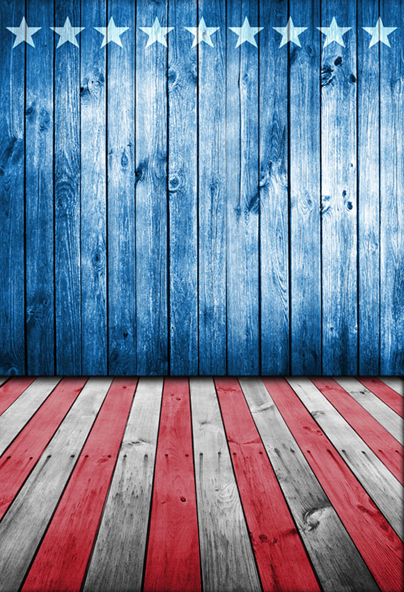 American Flag Photography Backdrop Independence Day 4th Of