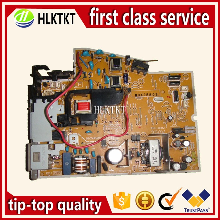 Power Supply Board for HP Laserjet P1606 p1606DN p 1606 1606dn RM1-7616 RM1-7615-000CN | RM1-7615 printer parts laserjet engine control power board for hp color laserjet cm1015 cm1017 rm1 4364 rm1 4363 1015 1017 voltage power supply board