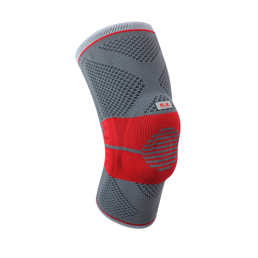 2 Pcs Kuangmi Elastic Breathable Kneepads Basketball Running Climbing Sport Protection Knee Pads Knee Wrap Brace