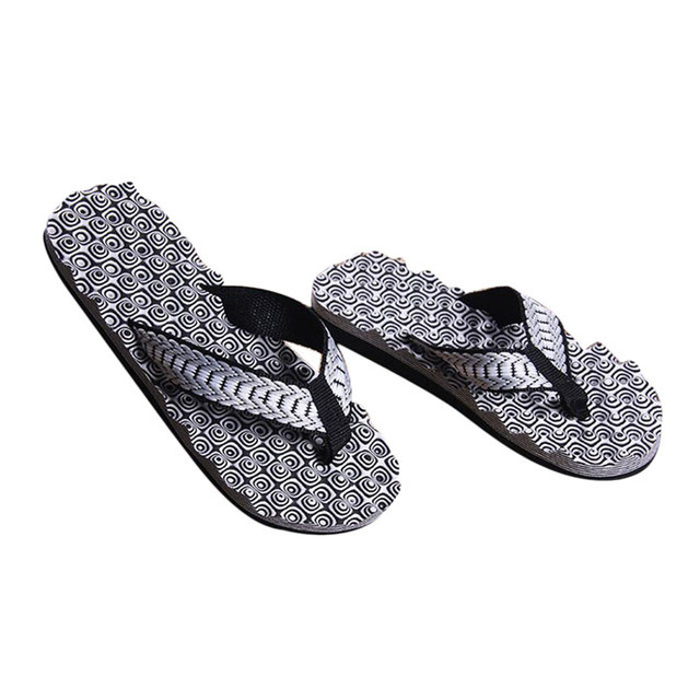 10e86808c Slippers Men Summer Comfortable Massage Flip Flops Shoes Sandals Male  Casual New Hot Sale Slipper indoor   outdoor Flip-flops