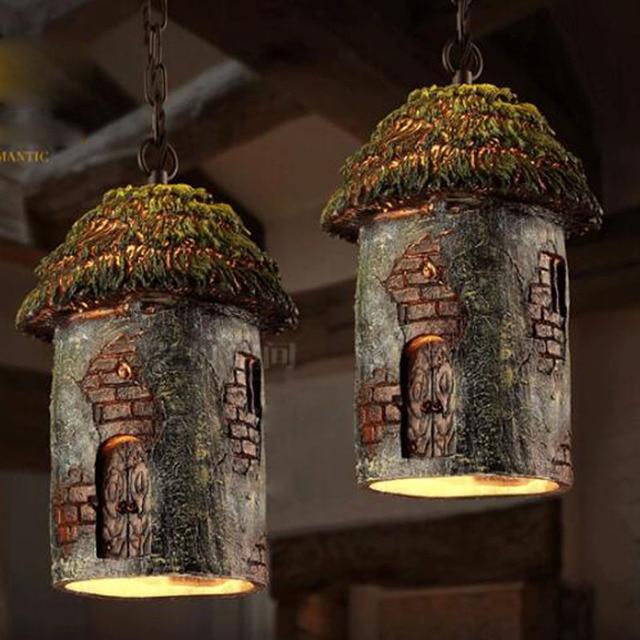 Vintage pendant lights retro tree house hanging lamp for bar kitchen vintage pendant lights retro tree house hanging lamp for bar kitchen dining room decor loft home aloadofball Choice Image