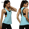 Women Loose Tank Tops Fitness Quick Drying Vest Sleeveless Tops 8 Colors Summer Women Sexy Singlet For Practice