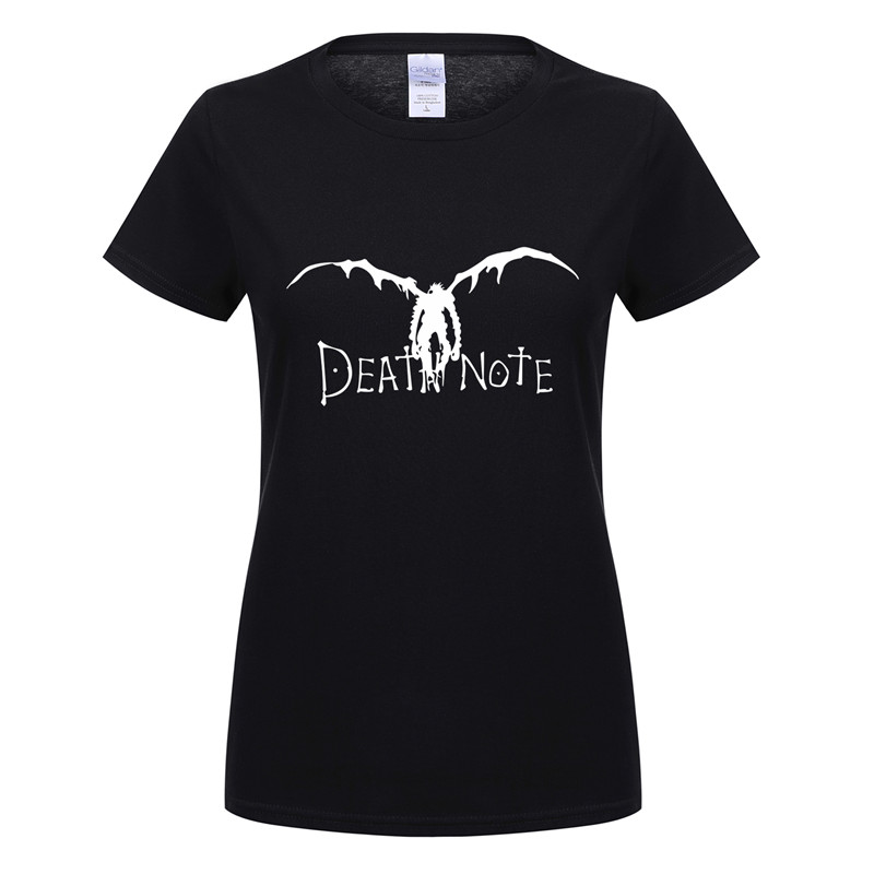 T-shirts Shop For Cheap Omnitee Women Death Note T Shirts Cotton Short Sleeve Woman Japan Anime T Shirt Fashion Female Girl T-shirt Tee Ot-607 Catalogues Will Be Sent Upon Request Tops & Tees