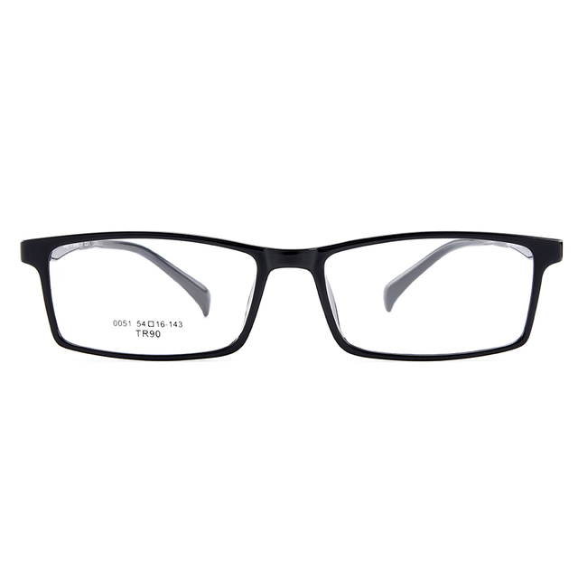 fcc1b629f21 BAONONG New Arrival Simple Design Black Ultralight TR90 Optical Eyeglasses  Full Rim Frames For Men s Prescription Glasses W0051
