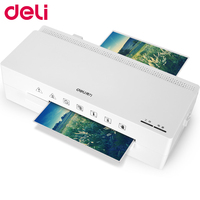 Deli 2897 cold&hot laminator A6 simple convenient quick small size household stable good quality fashionable laminator