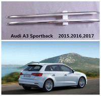 Auto Dachgepäckträger Gepäckträger Für Audi A3 Sportback 2015.2016.2017 Hochwertigen Aluminiumpaste Installation Auto Zubehör