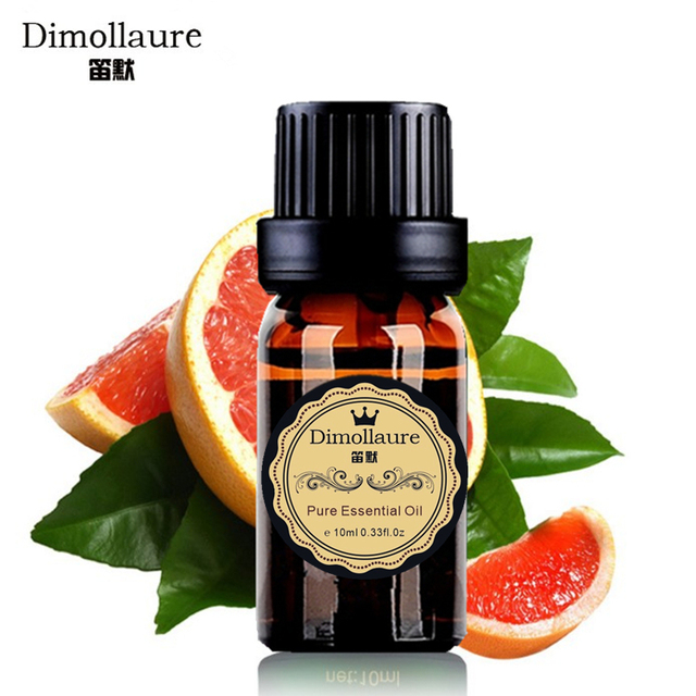 Dimollaure Grapefruit Essential Oil Aromatherapy humidifier Fragrance lamp Essential Oil hair care Skin Care massage oil