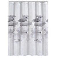 Bathroom Shower Curtains 3D Waterproof Stone Plants Design Bathing Shower Curtains Home Decor Bathroom Product