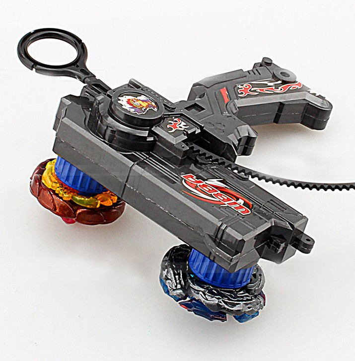 Beyblades Metal Blade Spinning Top Launcher toy for Two Tops