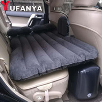 1Pc Car Air Bed Travel Inflatable Mattress Back Seat Cushion Universal For Back Seat Multi functional Outdoor Camping Mat