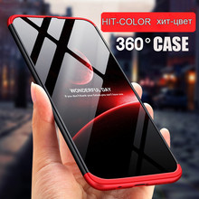 For Samsung Galaxy A50 A30 A70 A60 M10 M20 M30 360 Phone Case Tempered Glass 3 IN 1 Full Cover Hard Plastic Protective Case