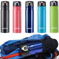 Sports Bike Bicycle Cycling Water Bottle Cup Stainless Steel Vacuum Flask EA 450ML