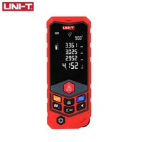 UNIT 100m Mini Digital Handheld Laser Distance Meter Rangefinder Diastimeter Area Volumn Pythagorean Range Finder Tape Measure