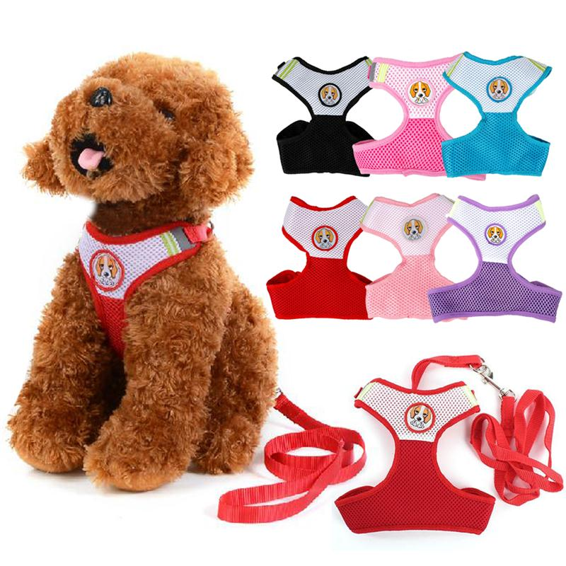 Small Dog Pet Puppy Harness and...