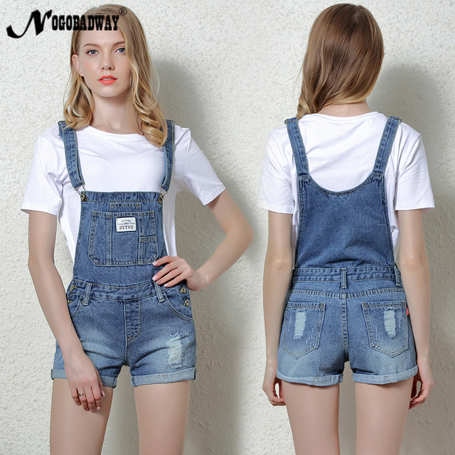 cd283113ae Short Denim Jumpsuit Rompers For Women Summer Jeans Overalls Casual Shorts  Playsuits Slim Dungarees Femme 2018 New