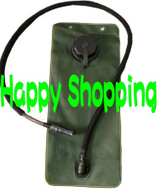 2.5L зеленый восполняющий воду Пузырь мешок резервуар с черной крышкой