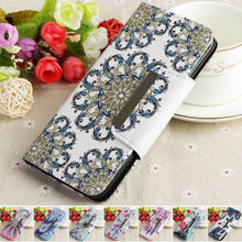 Leather Case For Apple iphone X XR XS Max 8 7 6 6s Plus Phone Cover Print Tower Flower Butterfly Wallt Flip Fundas Capa Bag P03Z(China)