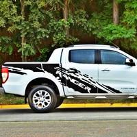 Автомобильный внешний mudslinger с корпусом ranger задний хвост боковой Графический виниловый автомобильный стикер для ranger 2012 2017 аксессуары для зв