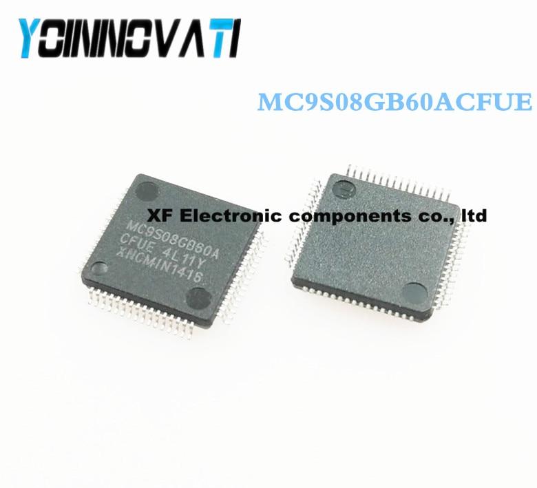 Free shipping 50pcs lot MC9S08GB60ACFUE MC9S08GB60 QFP64 IC best quality