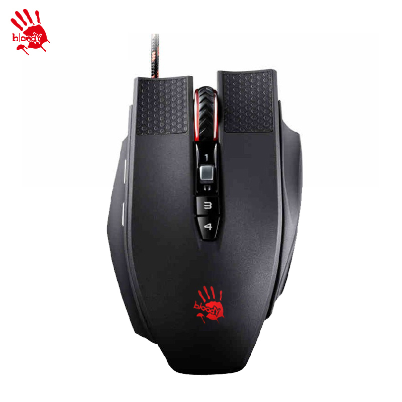 A4tech/ bloody TL90 wired game mouse professional gaming game notebook computer mouse LOLcf macro programming TL90 USB wired мышь a4tech bloody v7 game mouse usb