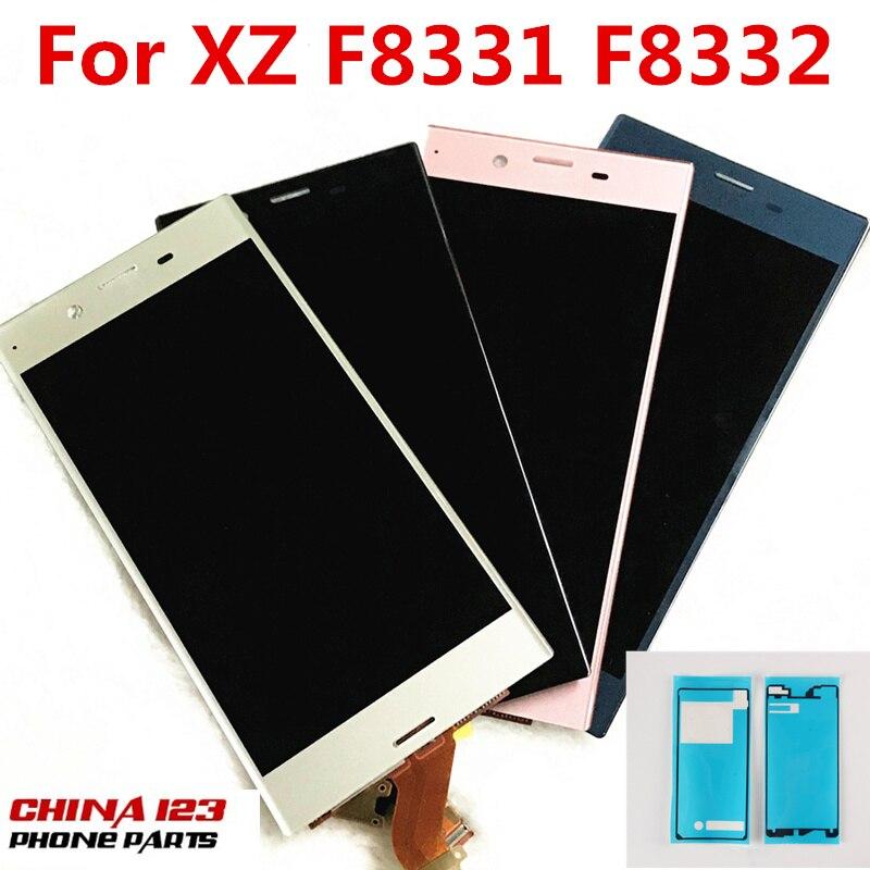 5.2 ''Garantie Pour SONY Xperia XZ F8331 F8332 LCD Affichage Écran Tactile Digitizer Capteur En Verre Panneau Assemblée Pièces De Rechange