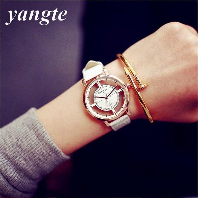 Armbanduhr am arm frau  Armbanduhr Skeleton Frau Werbeaktion-Shop für Werbeaktion ...
