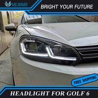 Car Headlights For Volkswagen Headlight Headlamp For Golf 6 MK6 GTI 2009 2013 Front L