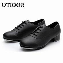 Zapatos de cuero para adultos y niños, calzado con cordones Oxford, ropa de claqué para mujeres, WD194, talla 2019