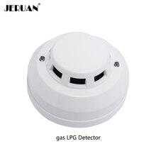 JERUAN ceiling coal gas natural gas LPG detector Carbon Monoxide Detectors connect to alarm system control FIR anti gas leaking
