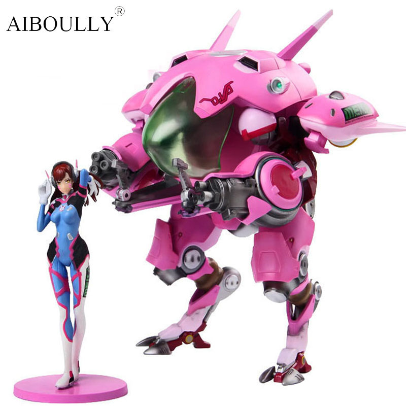 OW DVA and mecha Action Figure Model kinderen Speelgoed Geschenken Collectie Tracer PVC 23 CM game figuur цена 2017