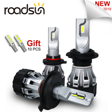 roadsun Car Light Bulb H7 LED CSP Chip H1 H11 9005 9006 HB3 HB4 H4 Led