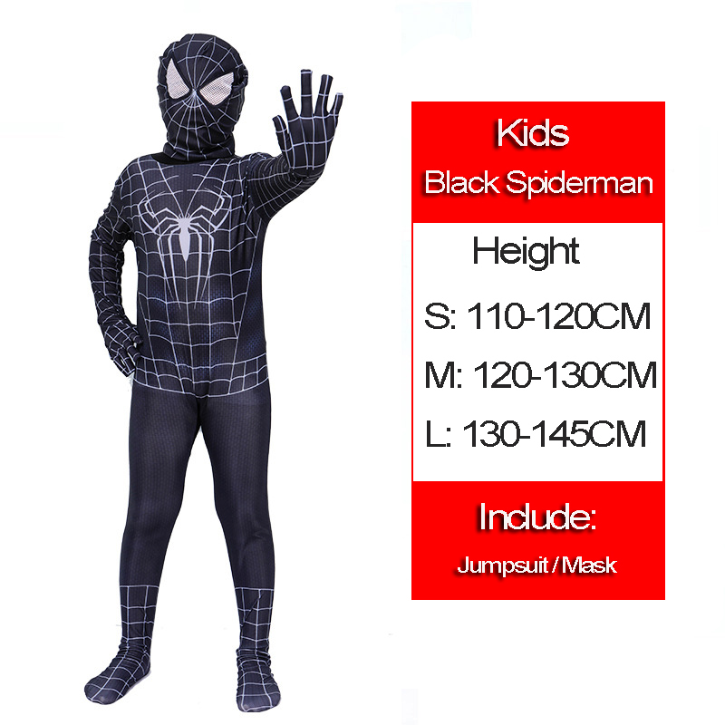 19 Black spiderman