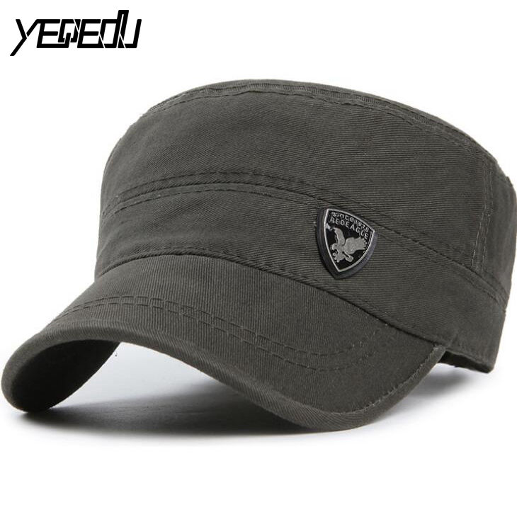 #3204 Army Snapback hats Korean 2017 Gorras planas hombre Baseball Hats for men Cotton Dad hats Baseball cap Trucker cap