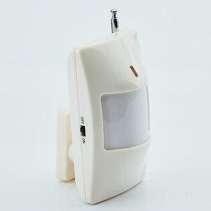 Freies Verschiffen! Externe antenne Drahtlose PIR Sensor 315MHZ oder 433MHz PIR Motion Sensor Detektor Für gsm pstn Home Security Alarm