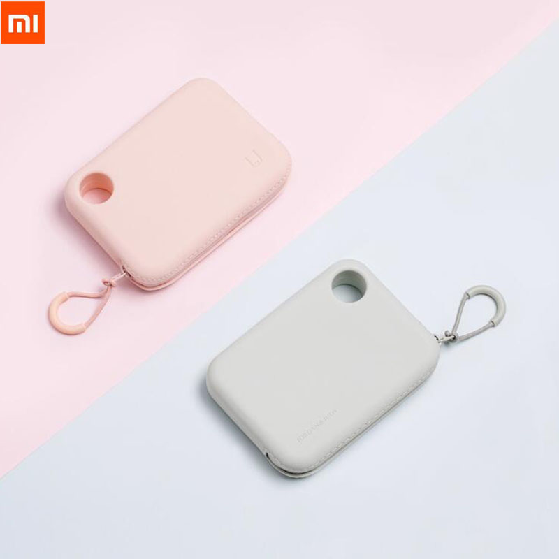 Xiaomi Jordan Judy Portable Silicone Storage Bag Soft Waterproof Neat Storage Bag for Cable Charger Keys Lips Earphone Phone-in Smart Remote Control from Consumer Electronics