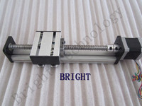 Ballscrew 1605 700mm Travel Length Linear Guide Rail CNC Stage Linear Motion Moulde Linear + 57 Nema 23 Stepper Motor SG