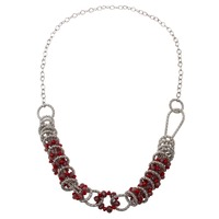 New Fashion 2015 Design Trendy High Quality Wholesale Glass Beads Long Chain Pendant Necklace For Women