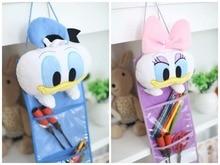 Plush font b toy b font 1pc 60cm cartoon sweet Donald Duck Daisy receive bag hanging